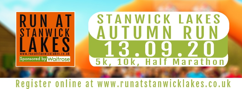 Stanwick Lakes Autumn Run Banner Image