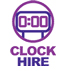 clock hire
